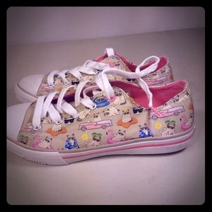 NWOT Womens Bobs kitty cat Sketchers sneakers Size